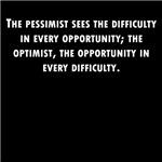 Pessimist And Optimist