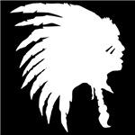 Indian Headdress Outline