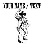 Custom Old School Cowboy