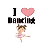 I LOVE DANCING WITH CUTE BALLERINA