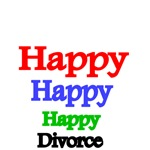 HAPPY.HAPPY.HAPPY. DIVORCE