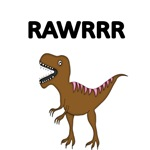 RAWRRR. WITH DINOSAUR PICTURE
