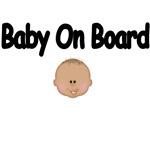 Cute Baby On Board Maternity Wear