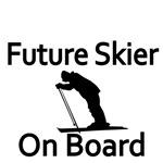 Future Skier on Board
