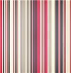 Bold Pink and Gray Stripes