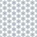 Cute Little Blue Flowers Pattern