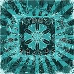 Turquoise Star Design