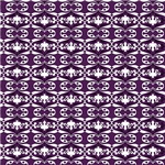 Purple and White Pretty Pattern
