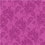 Pink on Pink Leafy Flourish Pattern