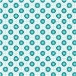 Little Turquoise Star Pattern