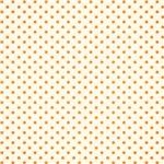 Tiny Orange Polka Dots