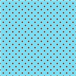 Turquoise and Brown Circles Pattern