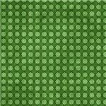Cute Green Little Flower Pattern
