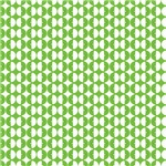 Green and White Circles Pattern