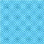 Small Blue and White Circles Pattern