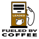 FUELED BY COFFEE T-SHIRTS AND GIFTS