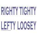 RIGHTY TIGHTY LEFTY LOOSEY T-SHIRTS AND GIFTSd