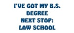 B.S. Degree law school