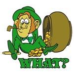 Funny St Patricks Day Leprechaun Shirts