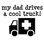 Cute Kids T-shirts For EMT Dads