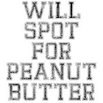 Will spot for peanut butter