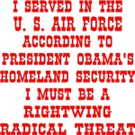 Air Force Rightwing Radical