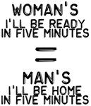 Man Woman Five Minutes
