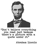 Don't believe everything read
