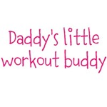 Daddy's little workout buddy