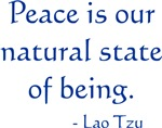 Peace Is Our Natural State ~ 