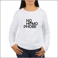 No Homophobe!