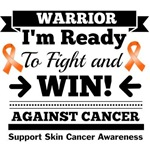 Skin Cancer Ready To Fight and Win T-Shirts