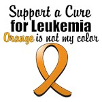 Support a Leukemia Cure, Orange is Not My Color