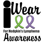 I Wear Ribbons For Hodgkin's Lymphoma