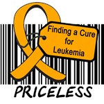 Finding a Cure For Leukemia Priceless T-Shirts