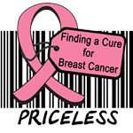Cure For Breast Cancer Priceless T-Shirts & Gifts