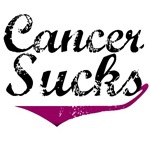 Grunge Style Cancer Sucks Myeloma T-Shirts