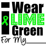 I Wear Lime Green Ribbon Lymphoma T-Shirts