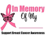 In Memory Breast Cancer T-Shirts & Gifts