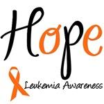 Hope Leukemia Awareness Ribbon T-Shirts & Gifts