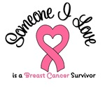 Someone I Love is a Breast Cancer Survivor T-Shirt