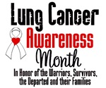 Lung Cancer Awareness Month Shirts & Gifts