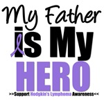 Hodgkin's Lymphoma Hero (Father) Shirts