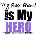 Hodgkin's Lymphoma Hero (Best Friend) Shirts