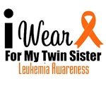 I Wear Orange For My Twin Sister T-Shirts