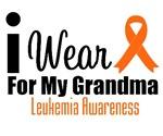 I Wear Orange For My Grandma T-Shirts & Gifts