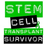 Stem Cell Transplant Survivor Label Green Shirts