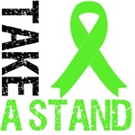 Lymphoma Take a Stand Grunge Shirts & Gifts