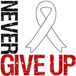 Lung Cancer Never Give Up Shirts & Gifts