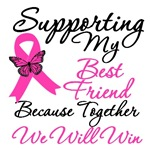 Breast Cancer Support (Best Friend) Shirts & Gifts